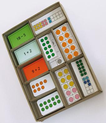 BEO-Mengenbilder-Spielekasten für den Zahlenraum bis 20